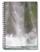 And Down Comes The Water Spiral Notebook