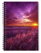 And I Dreamt Of Waking Spiral Notebook