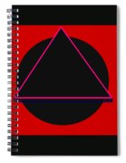 And It Flowed Spiral Notebook
