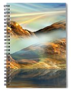 And The Light Shines On And On And On... Spiral Notebook