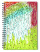 And The Rain Came Spiral Notebook