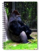 And They Have Me In A Cage Spiral Notebook