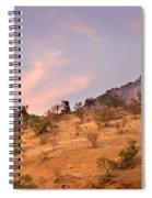 Andalucian Landscape Near Zahara De La Sierra Spain Spiral Notebook
