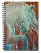 Andalusian Stallion Spiral Notebook