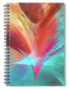 Andee Design Abstract 136 2017 Spiral Notebook