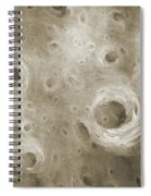 Andee Design Abstract 86 2017 B W Spiral Notebook