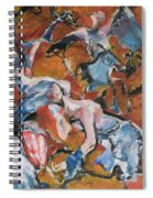 Andelusian Tessellation Spiral Notebook