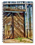 Andersonville Gateway To Hell Spiral Notebook