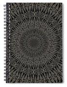 Andoluvium Metal Mandala Spiral Notebook