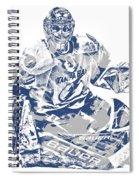 Andrei Vasilevskiy Tampa Bay Lightning Pixel Art 2 Spiral Notebook