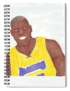 Andrew Bynum Spiral Notebook