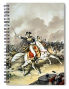 Andrew Jackson At The Battle Of New Orleans Spiral Notebook