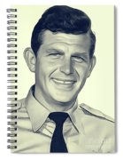Andy Griffith, Vintage Actor Spiral Notebook