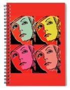 Andy Loves Greta Spiral Notebook