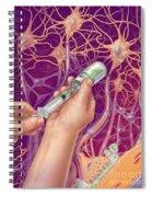 Anesthetic, Illustration Spiral Notebook