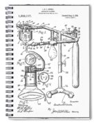 Anesthetic Machine Patent 1919  Spiral Notebook