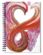 Angel Of Courage Spiral Notebook