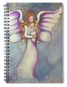 Angel And Baby Spiral Notebook