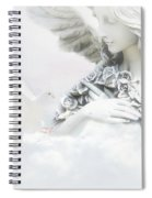 Angel And Dove Spiral Notebook