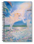 Chloe The Flying Lamb Productions.            Ask The Beasts And They Will Teach You. Spiral Notebook