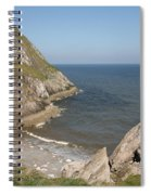 Angel Bay. Little Orme.  Spiral Notebook