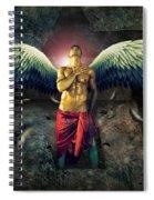 Angel Body Art Spiral Notebook