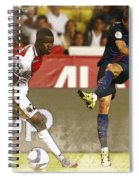 Angel Di Maria Shoot The Ball Spiral Notebook