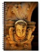 Angel Face Spiral Notebook