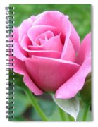 Angel Face Rose Spiral Notebook