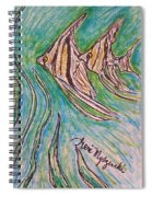 Angel Fish Spiral Notebook