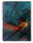 Angel From The Deep Spiral Notebook