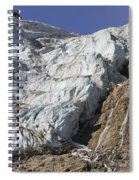 Angel Glacier Spiral Notebook