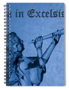 Angel Gloria In Excelsis Deo Spiral Notebook