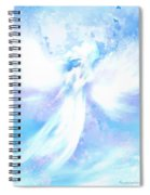 Angel In Hotty Totty In Thick Paint Spiral Notebook