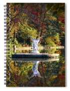Angel In The Lake - St. Mary's Ambler Spiral Notebook