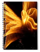 Angel In The Sky Fireworks Spiral Notebook