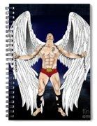 Angel Love 2  Spiral Notebook