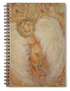 Angel Loves You  Spiral Notebook