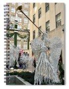 Angel New York City Spiral Notebook