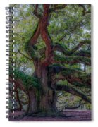 Angel Oak Tree Deeply Rooted History Spiral Notebook