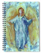 Angel Of Harmony Spiral Notebook