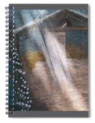 Angel Of Light Spiral Notebook