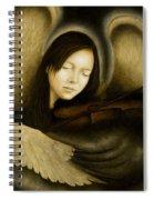Angel Of Music Spiral Notebook