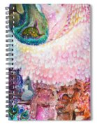 Angel Of Protection  Spiral Notebook