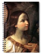 Angel Of The Annunciation Spiral Notebook
