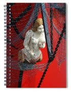 Angel Of The Seas Spiral Notebook