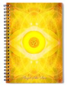Angel Of The Sun Spiral Notebook