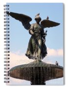 Angel Of The Waters Pigeons Spiral Notebook
