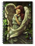 Angel Oriphiel Spiral Notebook