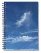 Angel Over Two Notch Road Spiral Notebook